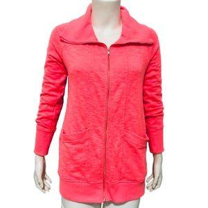 MOTHERHOOD MATERNITY | Full Zip Jacket Neon Orange